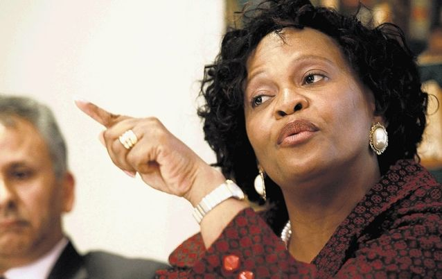 Nomvula Mokonyane. Picture: THE TIMES