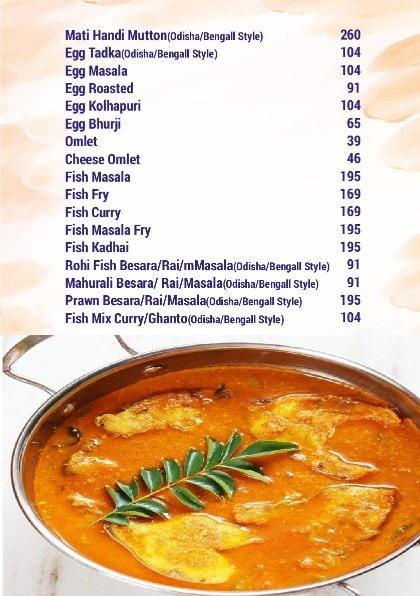 Konark Restaurant menu 3
