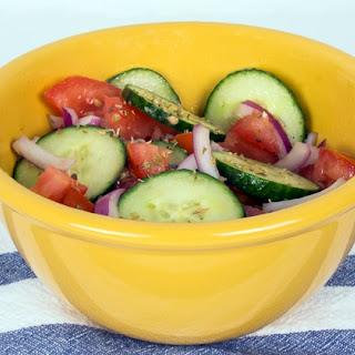 Mediterranean Tomato Cucumber Salad Recipes