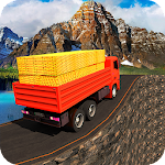 Gold Transporter Truck Driver 2019 : Uphill Driver icon