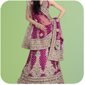 Woman Lehenga Choli Photo Suit