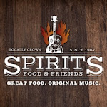 Logo for Spirits Food & Friends