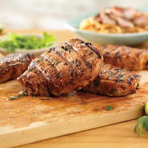 Thai Ribeye Pork Chops