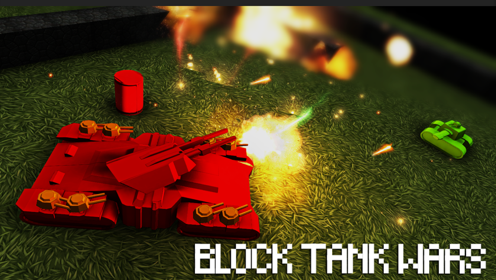 Block Tank Wars- screenshot