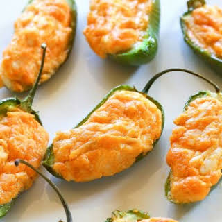 Buffalo Chicken Jalapeno Poppers.