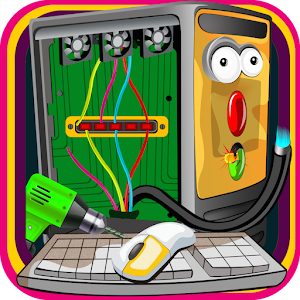 Computer Repair Shop Game for PC and MAC