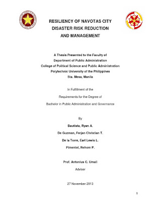 University Of The Philippines Thesis Format