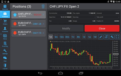 PANEX Protrader screenshot 8