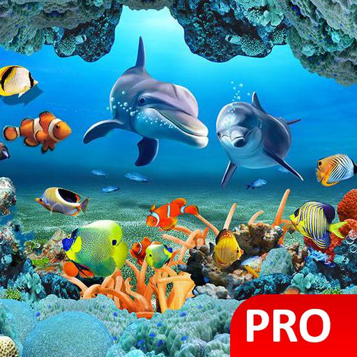 Fish Live Wallpaper 3D Aquarium Background HD :PRO