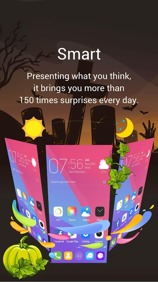 GO Launcher-Theme,Wallpaper- screenshot
