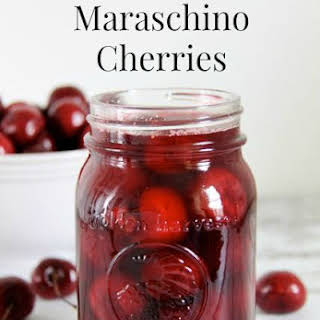 Maraschino Cherries.