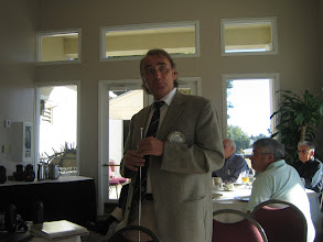 Photo: 16 November 2010 at the Rotary Club of DeBary-Deltona, in Florida U.S.A. - Klaus gave a great presentation regarding his year as President of his Club!