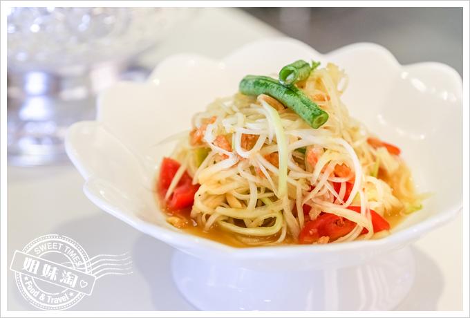 PAPAYA泰-泰式料理手搗青木瓜沙拉2