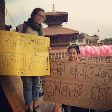 """Photo: 4.11.15 Kathmandu, Nepal """"Packed vehicles are not an excuse. Leave the whistling to the traffic police"""""""