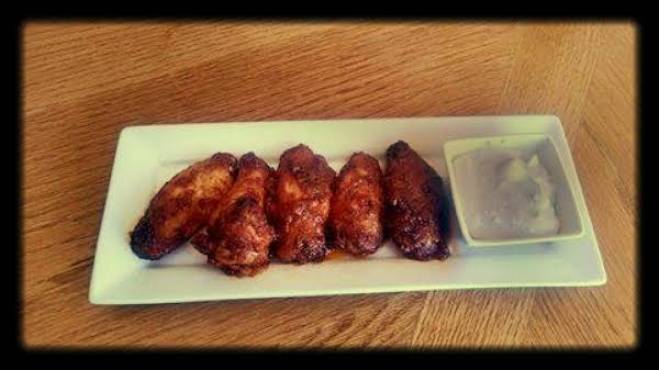 Seasoning Rubbed Honey Buffalo Wings Recipe