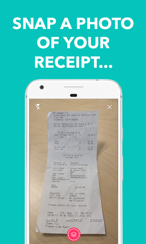 Receipt For Carrot Cake Excel Tap Receipts Tax Calculator  Receipt Scanner  Android Apps On  American Traffic Solutions Receipts Word with Turn On Read Receipts Outlook Tap Receipts Tax Calculator  Receipt Scanner Screenshot Digital Receipts Excel