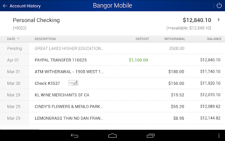 android Bangor Mobile Screenshot 6