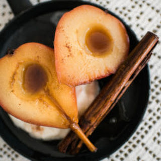 Piloncillo Poached Pears.