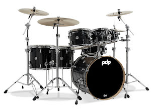 PDP Concept Maple - CM7 Shellpack - Ebony Stain