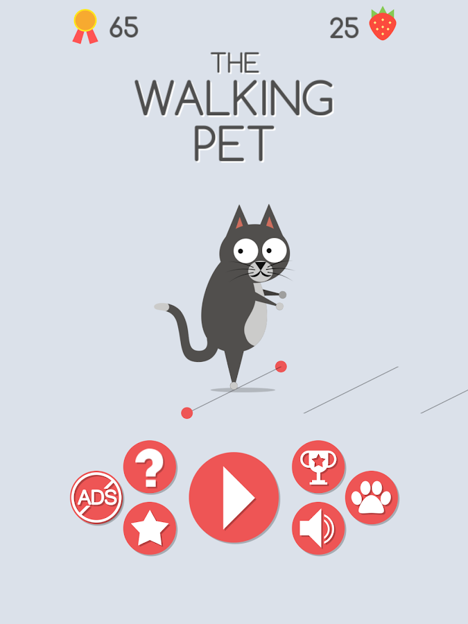 The Walking Pet- screenshot