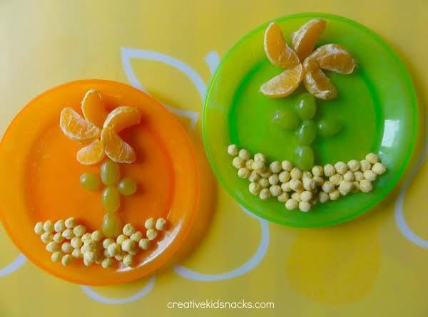Flower Snack For Kids Recipe