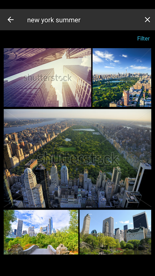 Shutterstock- screenshot