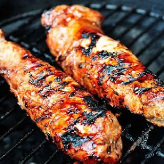 BBQ Pork Tenderloin.