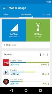 Opera Max - Data savings- screenshot thumbnail
