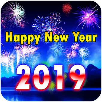 2019 new year fireworks live wallpaper