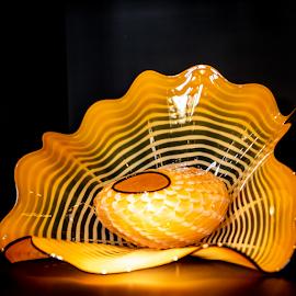 Sun Glow by Myra Brizendine Wilson - Artistic Objects Glass ( chihuly art, art, glass, glass art,  )