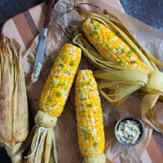 Grilled Corn with Southwest Butter.