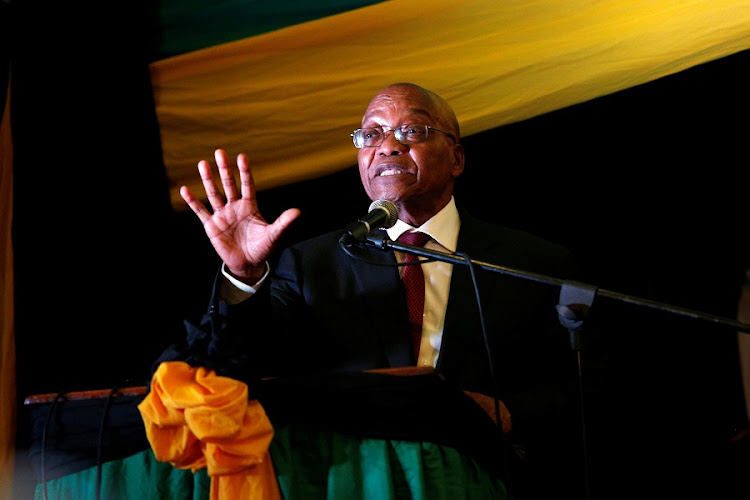 Jacob Zuma. Picture: REUTERS/Rogan Ward