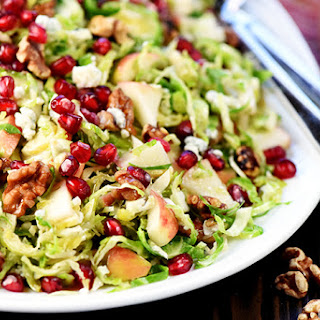 Holiday Brussels Sprouts Salad.