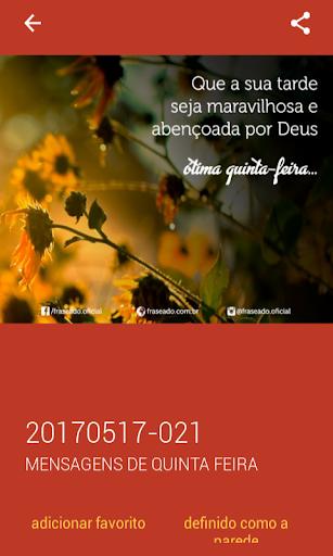 Mensagens de Quinta Feira 2.0.0.0 screenshots 6