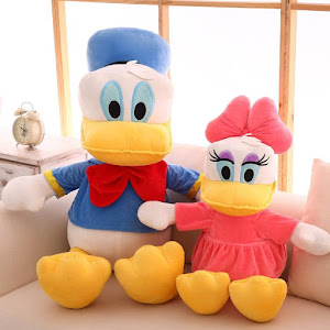 Jucarii din plus Donald Duck si Daisy Duck, 60 cm