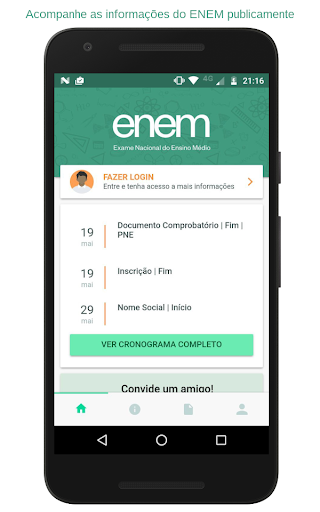 ENEM 2017 2.3.1 screenshots 1