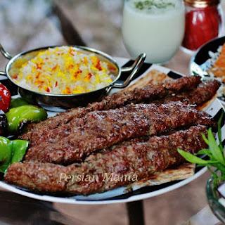 KABOB KOOBIDEH | GRILLED MINCED MEAT KABOB