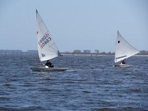 Photo: Tracy, Jim downwind