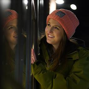 Night reflection by Matt  Glenn - People Portraits of Women