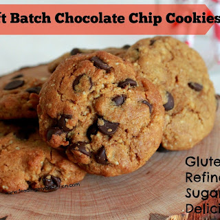 Healthy Soft-Batch Chocolate Chip Cookies