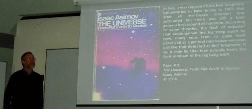 Photo: Near the beginning of an excellent talk.