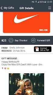 Bouxtie: Digital Gift Cards- screenshot thumbnail