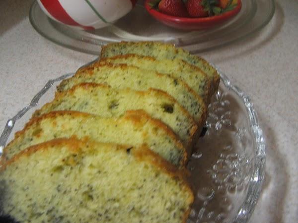Poppy Seed Quick Bread Recipe