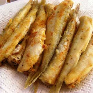 Simple and Easy Fried Smelt or Capelin