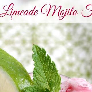 Cherry Limeade Mojito Floats