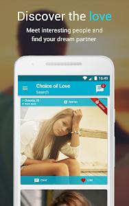 Free Dating ♥ Choice of Love screenshot 0