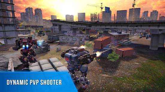 Robot Warfare: Battle Mechs Screenshot