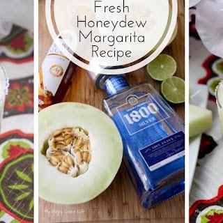 Fresh Honeydew Margarita.