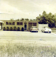 Photo: Joe Bernard Tillery Jr's first animal hospital, Jackson, MS about 1952-54