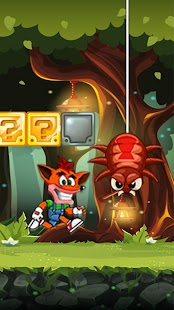 Super Bandicoot Adventure - náhled